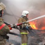 Пожар в Тайване оставил 300 постояльцев на улице