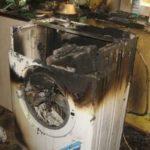 В Домодедово взорвалась неисправная стиральная машина