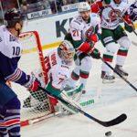 Казанский «Ак-барс» уступил команде «Металлург» во втором матче серии плэй-офф