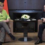 Путин и Меркель: встреча двух держав