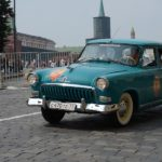 Ретро-автомобили в очередной раз прокатятся по столице