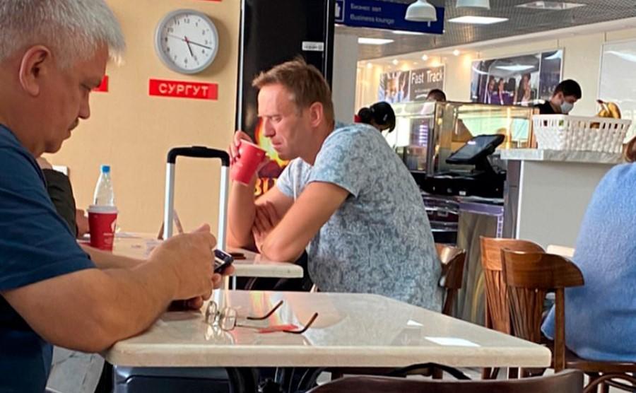 В Томске закрылась кофейня после сообщений об отравлении Навального ::  Политика :: РБК
